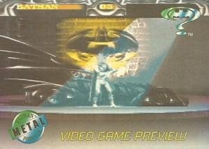 1995 Batman Forever Metal Video Game Preview