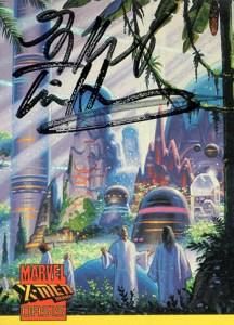 1997 X-Men 2099 Oasis Autograph