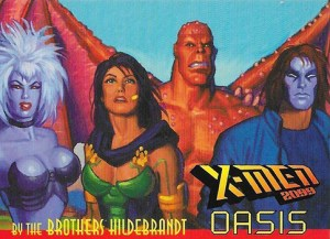 1997 X-Men 2099 Oasis Bonus Card