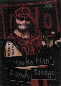1998 Topps WCW NWO Chrome Macho Man Randy Savage
