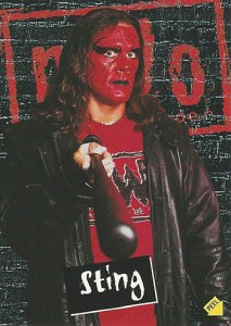 1998 Topps WCW NWO Stickers Sting