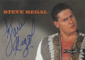 1999 Topps WCW Embossed Autographs Steve Regal