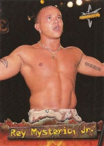 1999 Topps WCW Embossed Base Rey Mysterio Jr
