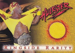1999 Topps WCW Embossed Ringside Rarity Hulk Hogan Shirt