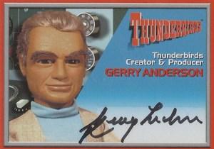 2001 Thunderbirds Premium Autographs Gerry Anderson