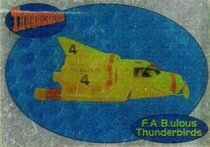 2001 Thunderbirds Premium Foil