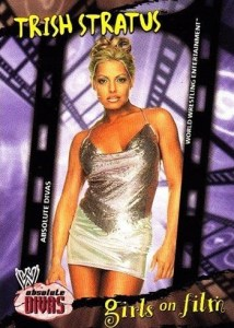 2002 Fleer WWE Absolute Divas Base Girls on Film Trish Stratus