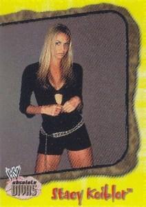 2002 Fleer WWE Absolute Divas Diva Gems Parallel