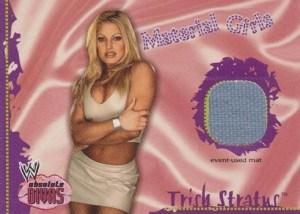 2002 Fleer WWE Absolute Divas Material Girls Trish Stratus