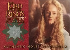 2003 Lord of the Rings Return of the King Update Eowyns Golden Hall Party Dress
