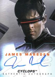 2003 X-Men 2 Autographs James Marsden