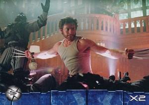 2003 X-Men 2 Promo Card P1