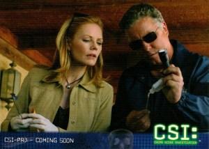2004 CSI Series 2 Promo Card CSI-PR3