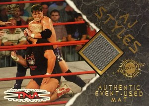 2004 Pacific TNA Event-Used Mat AJ Styles