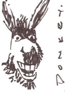 2004 Shrek 2 Sketch Card
