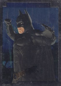 2005 Batman Begins Embossed Foil