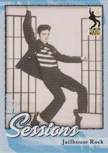 2006 Elvis Lives Promo Card Jailhouse Rock