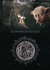 2006 Harry Potter Memorable Moments Coin Card