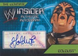 2006 Topps WWE Insider Autographs Goldust