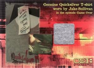 2007 CSI Miami Series 2 Costume Cards CSIMS2-C1