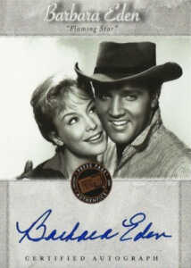 2007 Elvis Is Autographs Barbara Eden