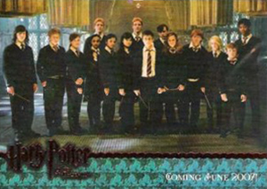 2007 Harry Potter San Diego Comic-Con OOTP Promo Card