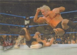 2007 Topps WWE Action Lenticular Motion Ric Flair