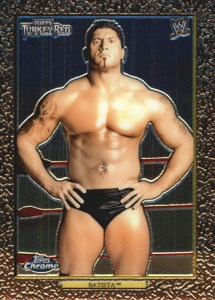 2007 Topps WWE Heritage Chrome II Base Turkey Red