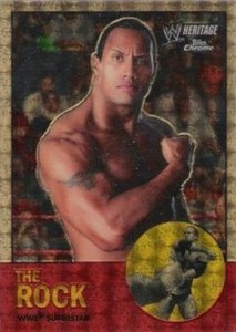2007 Topps WWE Heritage Chrome II Superfractor