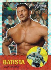 2007 Topps WWE Heritage Chrome II X-Fractor