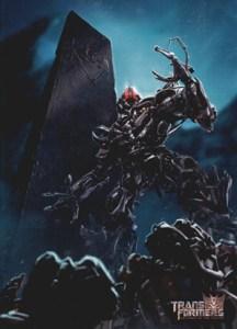 2009 Transformers Revenge of the Fallen Comic Art