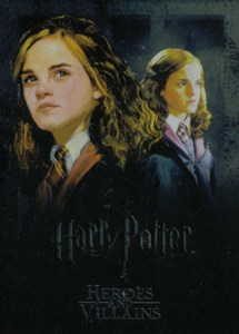 2010 Harry Potter Heroes and Villains Rare Foil