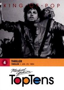 2011 Michael Jackson Base Top Tens