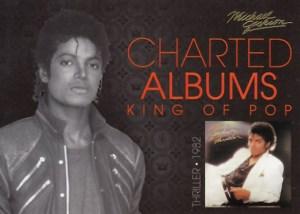 2011 Michael Jackson Charted Albums