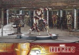 2013 Iron Man 3 Foil Parallel