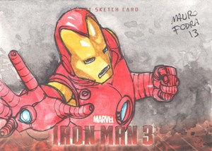 2013 Iron Man 3 Sketch Card