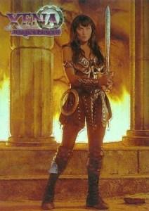 1998 Xena Finest Refractor