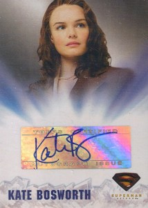 2006 Topps Superman Returns Autographs Kate Bosworth as Lois Lane