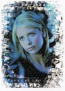 2000 Inkworks Buffy the Vampire Slayer Reflections Promo P1