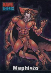 2001 Marvel Legends Foil