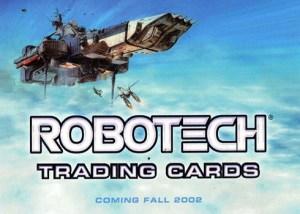 2002 Robotech Promo Card P1