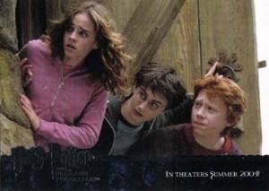 2004 Artbox Harry Potter and the Prisoner of Azkaban Promo