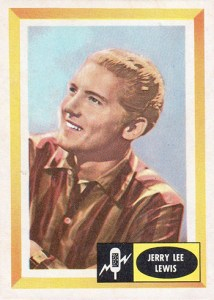 1960 Fleer Spins and Needles 36 Jerry Lee Lewis