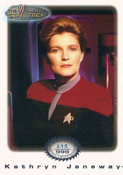 2000 Women of Star Trek In Motion Archive Collection