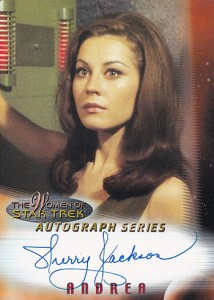 2000 Women of Star Trek In Motion Autographs A2 Sherry Jackson