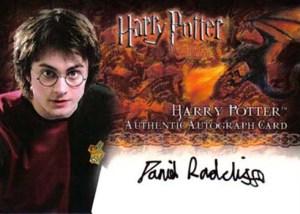2006 Harry Potter GOF Update Autographs Daniel Radcliffe