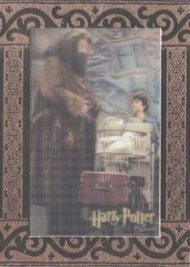 2007 World of Harry Potter 3-D Case Topper