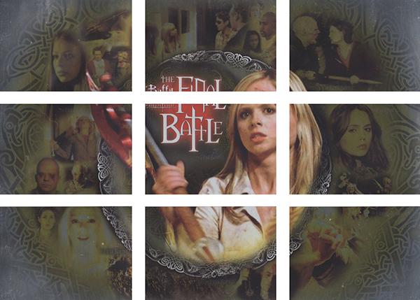 2003 Buffy the Vampire Slayer Season 7 Final Battle Gold