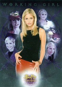 2004 Buffy and the Women of Sunnydale Working Girl Case Loader