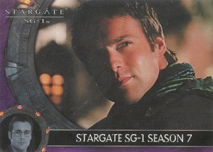 2005 Stargate SG-1 Season 7 Promo Card P1